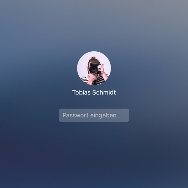 Mac Benutzerbild ohne Fotos-App ändern